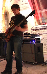 Andreas on the Bass